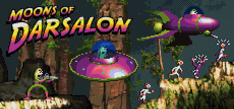 Moons Of Darsalon Game PC Free Download