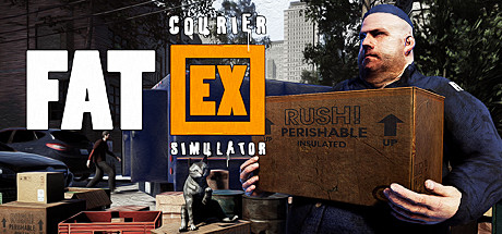 Fat EX Courier Simulator Game PC Free Download